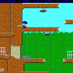 Скриншот Bionic Commando (1988) – Изображение 3