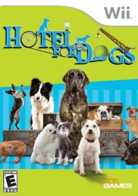 Обложка Hotel for Dogs