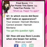 Скриншот Demi Lovato Quizzle