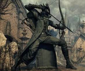 Bloodborne: From Software показала Simon's Bowblade из The Old Hunters