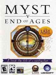 Обложка Myst 5: End of Ages