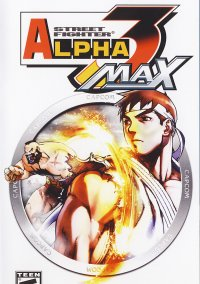 Обложка Street Fighter Alpha 3 MAX