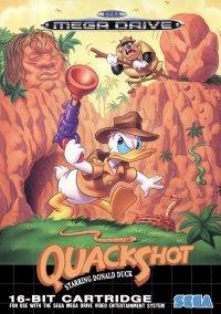 Обложка Quackshot: Starring Donald Duck