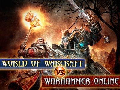 World of Warcraft vs. Warhammer Online