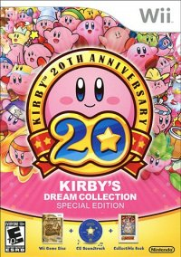Обложка Kirby's Dream Collection: Special Edition