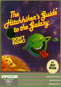 Обложка The Hitchhiker's Guide to the Galaxy