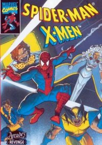 Spider-Man and the X-Men: Arcade's Revenge – фото обложки игры
