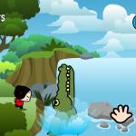 Скриншот Pucca's Kisses Game – Изображение 4