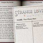 Скриншот Strange Loves: Vampire Boyfriends – Изображение 3