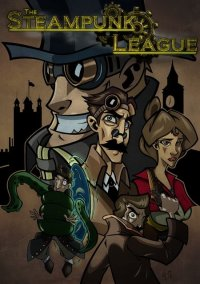 Обложка The Steampunk League