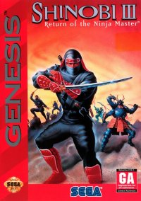 Обложка Shinobi III: Return of the Ninja Master