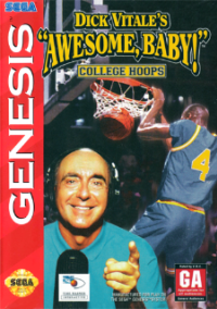 Обложка Dick Vitale's Awesome Baby! College Hoops