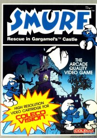 Обложка Smurf: Rescue in Gargamel's Castle