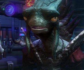 Ящер из космоса заговаривает зубы в трейлере игры соавтора Diablo