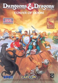 Обложка Dungeons & Dragons: Tower of Doom