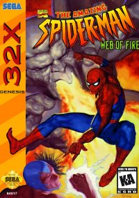 Обложка The Amazing Spider-Man: Web of Fire