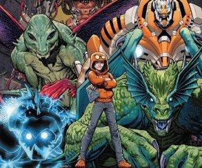 Kid Kaiju всего одиннадцать лет, а он уже спас мир с помощью монстров