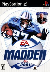 Обложка Madden NFL 2001