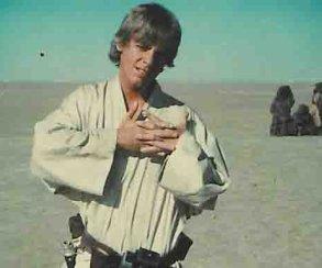 Марк Хэмилл выложил самое первое фото Люка Скайуокера
