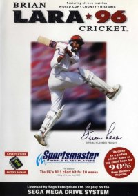 Обложка Brian Lara Cricket 96