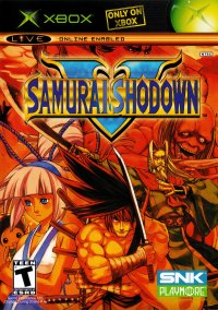 Обложка Samurai Shodown V