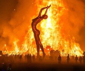 Какие мероприятия проводят в России поклонники фестиваля Burning Man