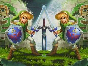Рецензия на The Legend of Zelda: A Link Between Worlds