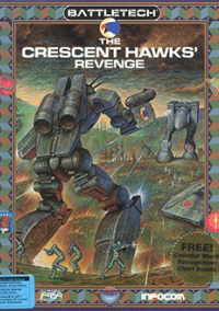 Обложка BattleTech: The Crescent Hawk's Revenge