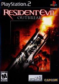 Обложка Resident Evil Outbreak