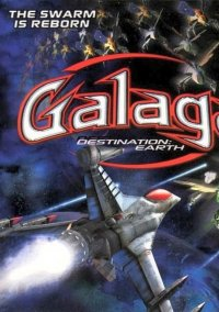 Обложка Galaga Destination: Earth