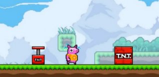 Squishy the Suicidal Pig. Видео #1