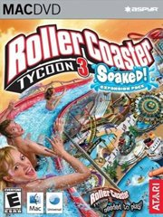 Обложка RollerCoaster Tycoon 3: Soaked!