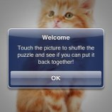 Скриншот SlidePuzzle - Baby Kitten