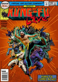 Обложка Kung-Fu Live