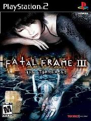 Обложка Fatal Frame 3: The Tormented
