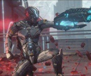 Contra с графикой Resogun! Трейлер красивого шутера Matterfall E3 2017