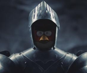Птицы бьют свиней по шагам в первом видео Angry Birds Epic