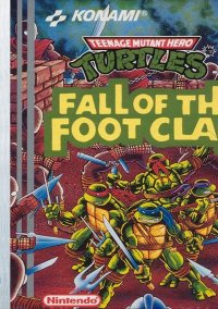 Обложка Teenage Mutant Ninja Turtles: Fall of the Foot Clan