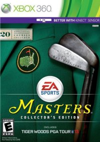 Обложка Tiger Woods PGA Tour 13: Masters Collector's Edition