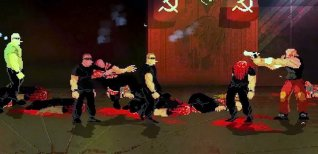 Mother Russia Bleeds. Геймплейный трейлер