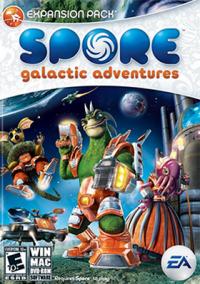 Обложка Spore: Galactic Adventures (Spore: Космические приключения)