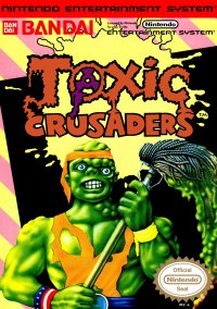 Обложка Toxic Crusaders