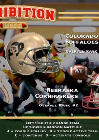 Обложка NCAA Football '99