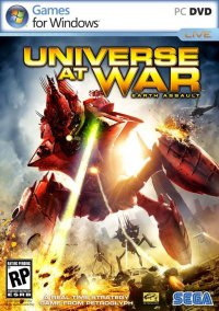 Обложка Universe at War: Earth Assault