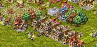 Townsmen. Трейлер версии для PC