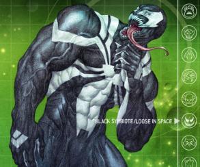 Дэдпул, Призрачный Гонщик и Танос  сольются с симбиотом Венома в марте