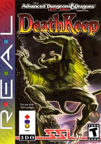 Обложка Advanced Dungeons & Dragons: DeathKeep