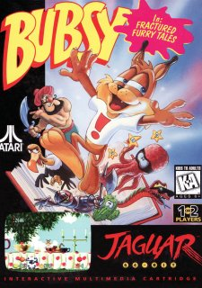 Bubsy in Fractured Furry Tales