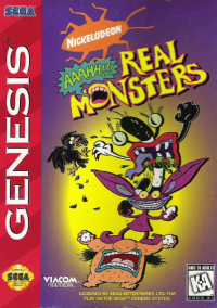 Обложка AAAHH!! Real Monsters