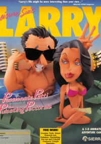 Обложка Leisure Suit Larry 3: Passionate Patti in Pursuit of the Pulsating Pectorals